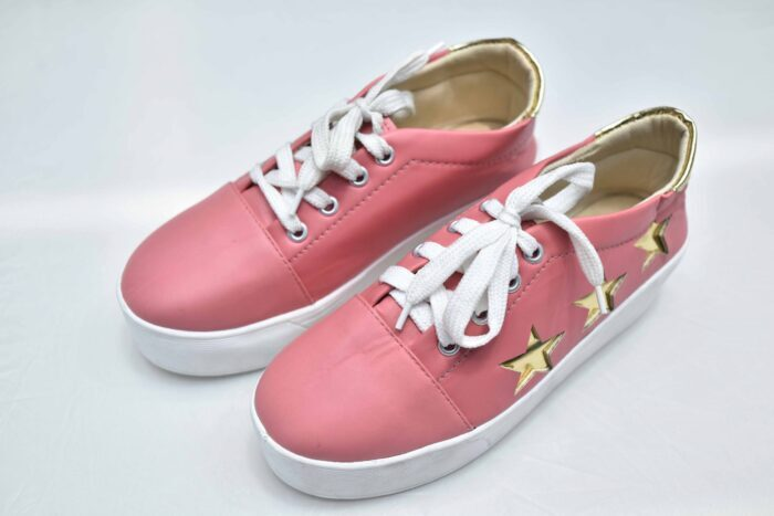 Stylish Converse For Ladies - Light Red