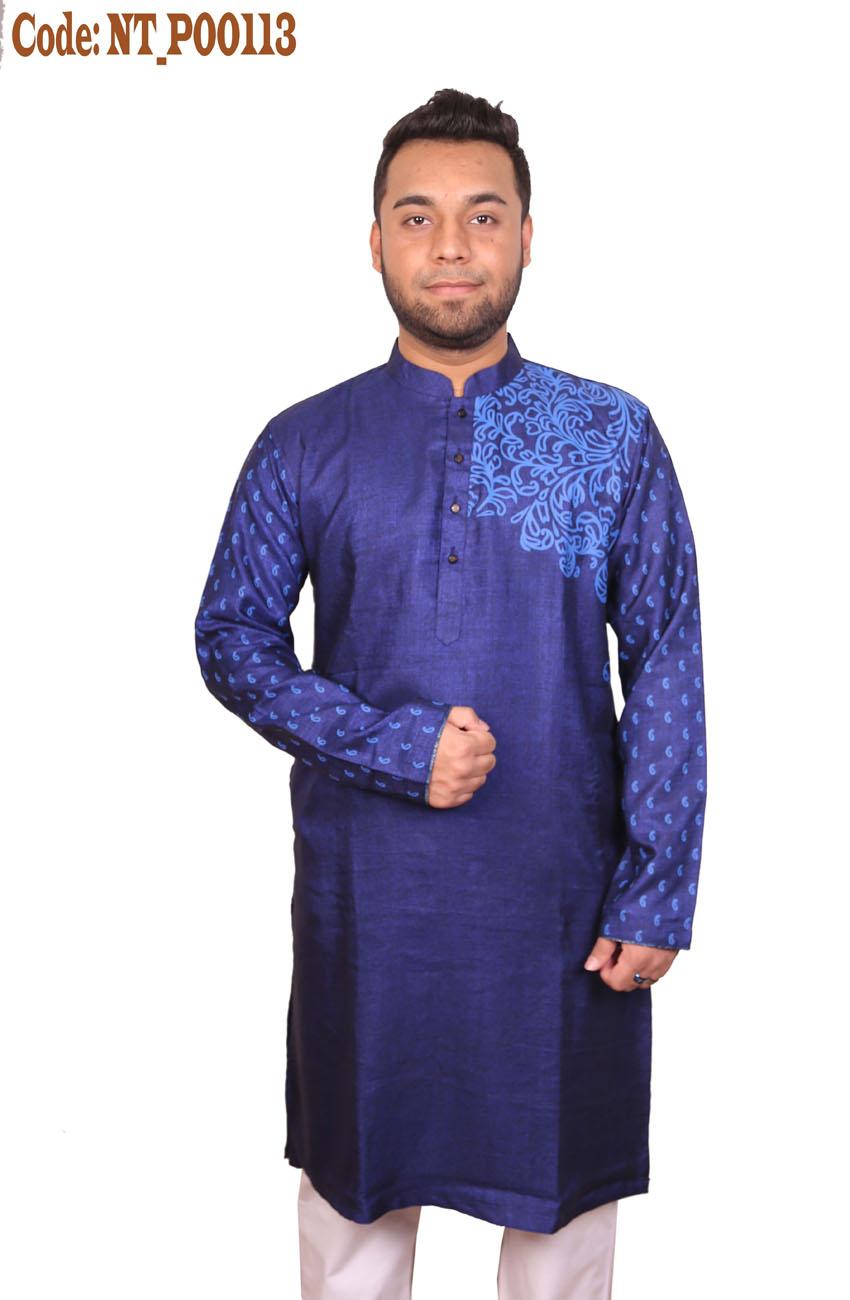 Mens Slim Fit Punjabi