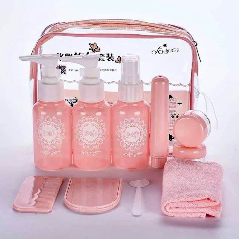 32065 Special Traveling Kit Set- Pink - 1 Pack   NEW Collection