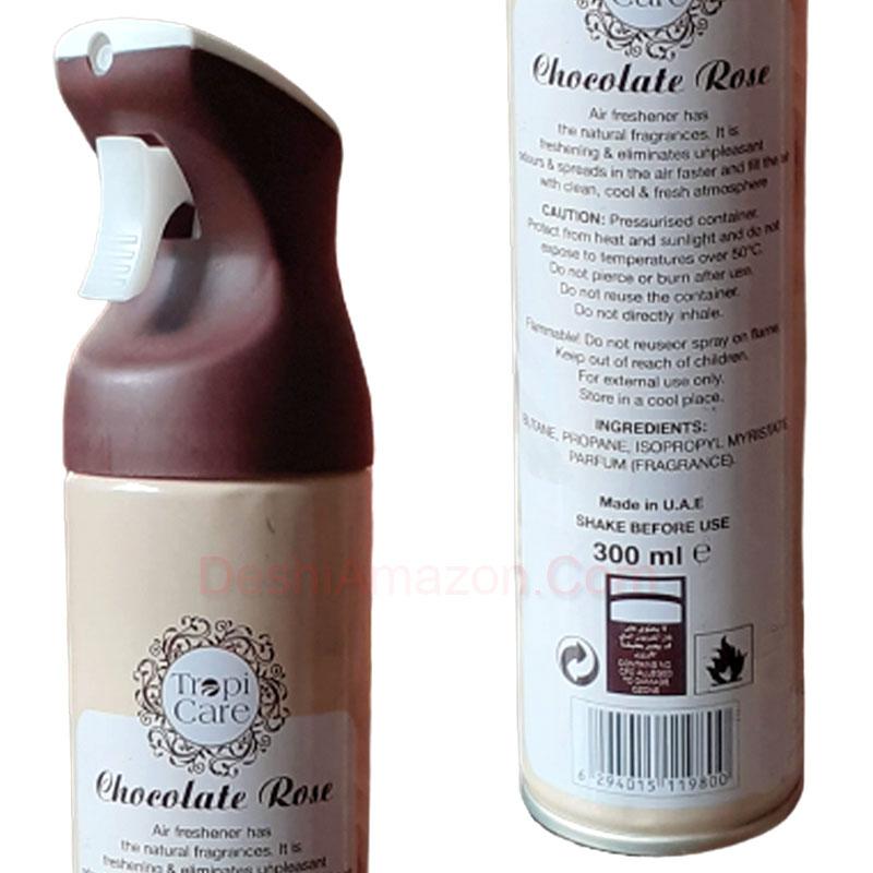 Tropi Care Chocolate Rose Air Freshener 300ml